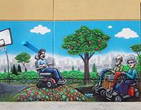 Australian Mobility Equipment Mural