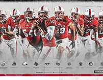 2015 NC State Football Poster