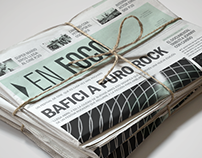 ▶ EN FOCO. // Diseño EditorialNewspaper