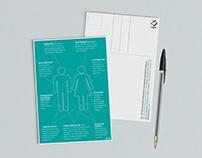 Spiseforstyrrelsesforeningen (IKS) - postkort