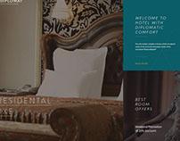 Diplomat Hotel Astana Digital Design