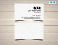 Clear Photography Business Card