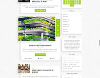 Shadows - Clean WordPress Blog Theme