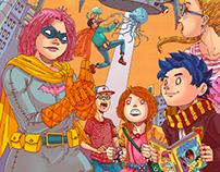 Ilustraciones Argentina Comicon 2016