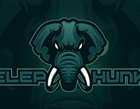 Elephant Mascot Logo for e-sports