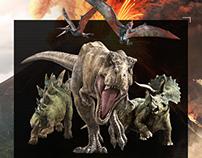 Jurassic World Promo Site Game UX