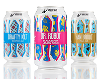 Monday Night Brewing Packaging Redesign