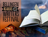 Bellingen Readers & Writers Fest BRAND & PRINT design