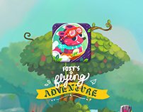 Foxy's Flying Adventure - a simple tap game