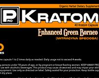 Pro Kratom branding