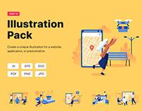 Web Illustration pack_Vol 12