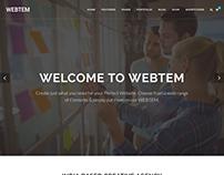 Webtem - Multi-Purpose HTML5 Template