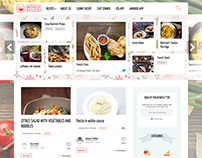 Wordpress food website
