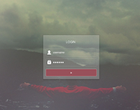 Website Login UI