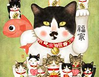 maneki neko doll cats_01