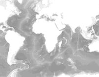 Ocean bathymetry