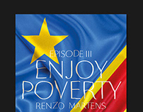 Enjoy Poverty Poster — LUCA School of Arts