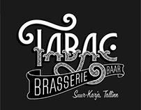 Tabac Brasserie & Baar | Signage & Gilding