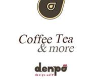 denpo cafe board display