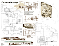 Cultural Center architectural sheets