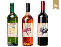 A wine label