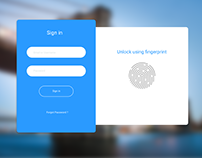 Fingerprint Signin Card