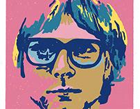 Kurt Cobain/Andy Warhol Appropriation
