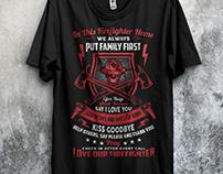 Firefighter T shirt Bundle