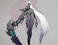 Synthet. Character Design Project