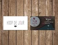 """""""Hoop de Jour"""" Branding Identity"""