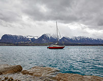 Lake Thun 21. Jan 2018