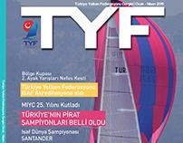Türkiye Yelken Federasyonu Dergi Tasarımı ve İçeriği