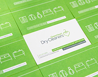 Greenheart Dry Cleaners Branding and Photography