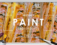 Abstract Paint Backgrounds Vol.7