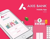 Redesign Axis Bank Mobile App