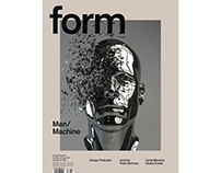 Magazine cover - form Design Magazine