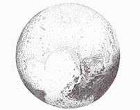 Stippling - Pluto