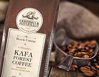 New Brand of Coffee - Sentinella mock up