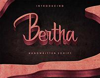 Free* Bertha Handwritten Script