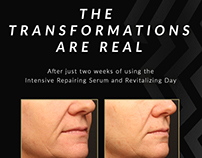 Volante Skincare - Transformations Email Campaign