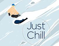 Snowboarding Pattern