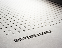 Give peace a chance: posters