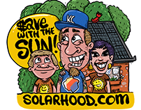 Solarhood sticker