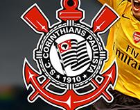 App design for Brazilian Club Corinthians Paulista...!