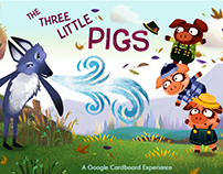 Google Cardboard (Three Little Pigs)