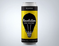 Revelation Ale Works Product Design