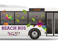 Almada Forum Beach Bus