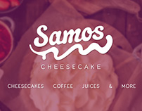"Branding & Graphic Design for ""Samos Cheesecake"""
