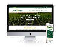 Iowa Corn Web Design