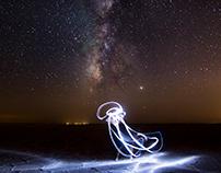 jellyfish in the galaxy
